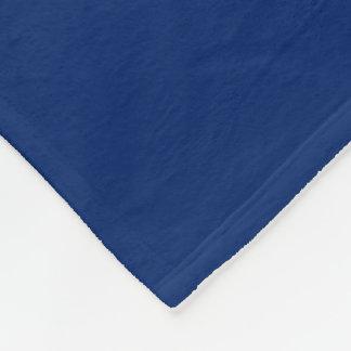 D'ouatine de couverture bleu uni