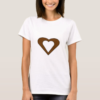 Double coeur d'amour t-shirt