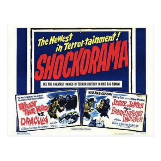 Double Dracula carte postale de mfrankenstein de