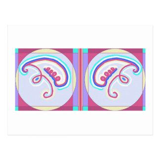 Double EEYAWA : Karuna Reiki Carte Postale