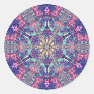 Double Hexagram des autocollants de Panspermia