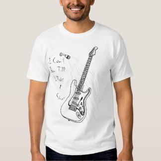 Douche de guitare t-shirts