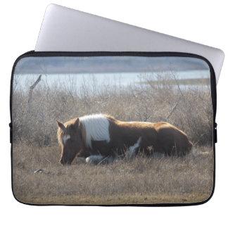 Douille adorable d'ordinateur portable de poney (1 trousses pour ordinateur portable