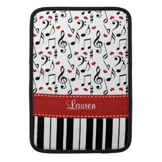 Douille d'air de Macbook de piano 13 et 11 pouces Poche Macbook Air
