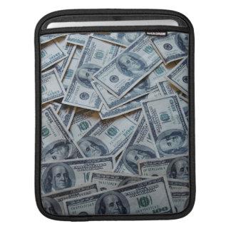 douille d'argent liquide poches iPad