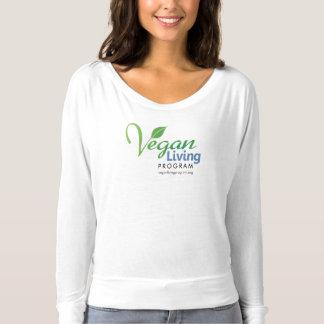 Douille de Bella des femmes végétaliennes de T-shirt