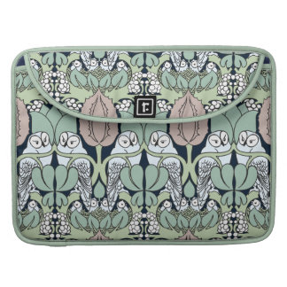 Douille de Macbook de motif de nid de hibou de Poches Pour Macbook