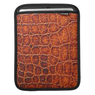 douille d'iPad - peau de crocodile Poches iPad