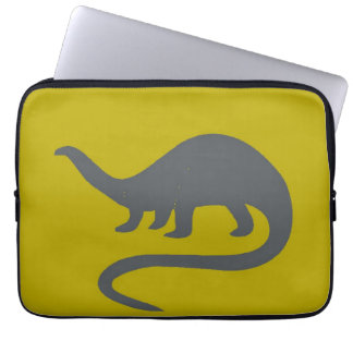 DOUILLE d'ORDINATEUR PORTABLE de dinosaure Housse Pour Ordinateur Portable