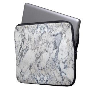 """Douille d'ordinateur portable de """"marbre"""" housse pour ordinateur portable"""