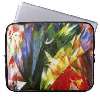 Douille d'ordinateur portable d'oiseaux de Franz M Housses Ordinateur Portable