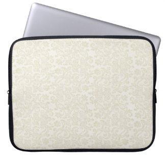 Douille ene ivoire d'ordinateur portable de trousse pour ordinateur portable