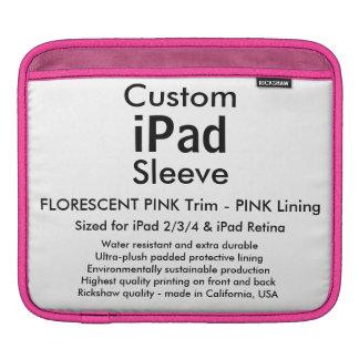 Douille faite sur commande d'iPad - horizontale Poches iPad