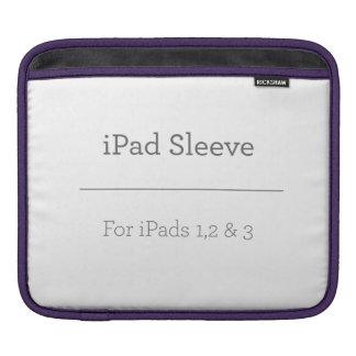 Douille personnalisée d'iPad Housse Pour iPad