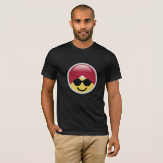 Dr. de T-shirt van Social Media Cool Glasses Emoji