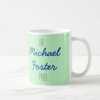 Dr. (votre nom) tasse d'obtention du diplôme de