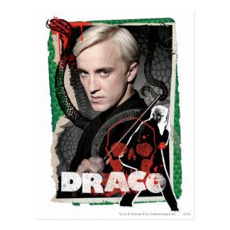 Draco Malfoy 6 Carte Postale