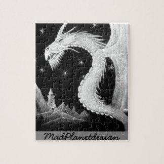 Dragon à la peinture de nuit puzzle
