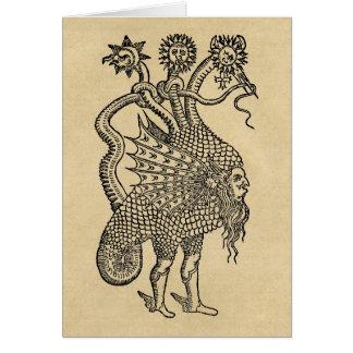 Dragon alchimique carte