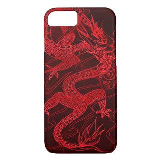 Dragon chinois du feu coque iPhone 7