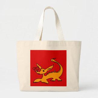 Dragon de bébé sac en toile jumbo