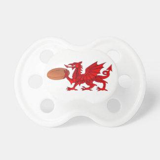 Dragon de Gallois avec une tétine de boule de