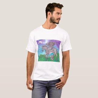 Dragon de zèbre t-shirt