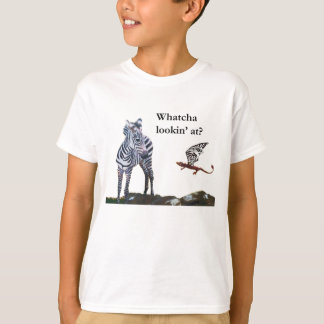 Dragon et zèbre t-shirt