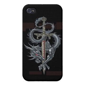 dragon-logo étuis iPhone 4