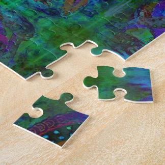 Dragon peint puzzle
