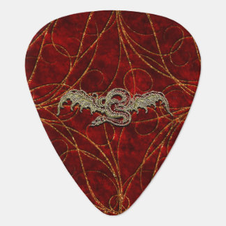 Dragon rouge d'or onglet de guitare