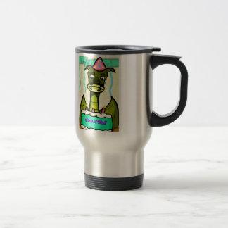 Dragon triste mug de voyage