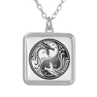 dragons de yin yang pendentif