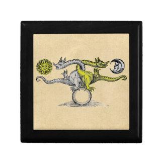Dragons d'or et d'argent de l'alchimie coffrets cadeaux