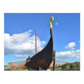 Drakkar de Viking de reproduction Carte Postale