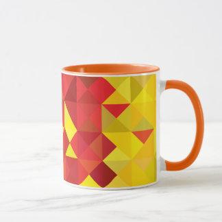 Drapeau abstrait du Cameroun, couleurs du Cameroun Mug
