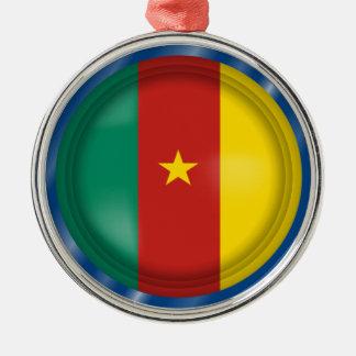 Drapeau abstrait du Cameroun, ornement du Cameroun