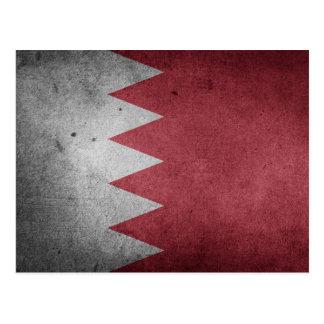 Drapeau affligé par cru du Bahrain Cartes Postales