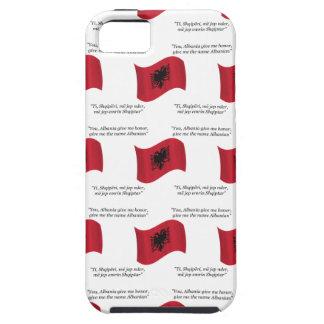 Drapeau albanais et devise coques Case-Mate iPhone 5