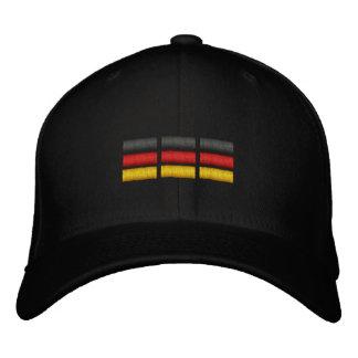 Drapeau allemand casquette brodée