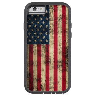 Drapeau américain grunge coque iPhone 6 tough xtreme
