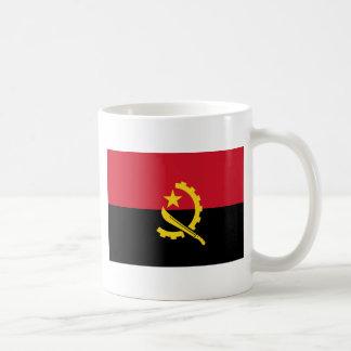 Drapeau ao de l'Angola Mug Blanc