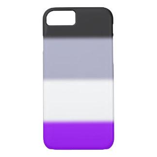 Drapeau asexuel de fierté de Falln Coque iPhone 7
