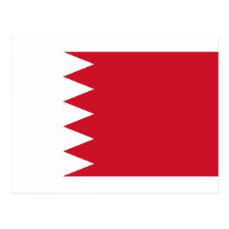 Drapeau BH du Bahrain Carte Postale