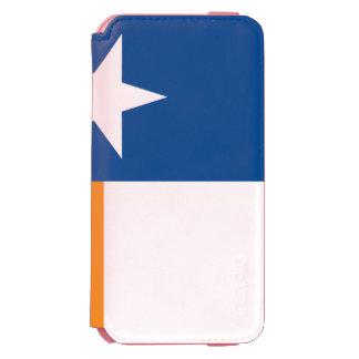 Drapeau bleu et orange du Texas Coque-portefeuille iPhone 6 Incipio Watson™