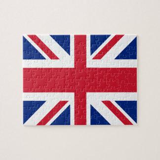 Drapeau BRITANNIQUE du Royaume-Uni Union Jack Puzzle