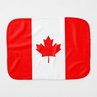 Drapeau canadien de feuille d'érable du Canada Linge De Bébé