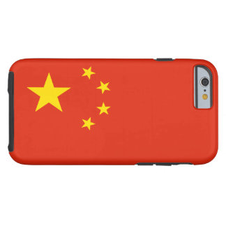 Drapeau chinois coque tough iPhone 6