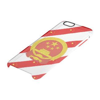 Drapeau chinois de rayures coque iPhone 6/6S