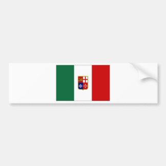 Drapeau civil de l'Italie Adhésifs Pour Voiture